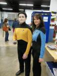 Michael and Laura Jarvis, Starfleet's Finest